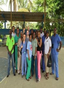 Panama 1 - Medical mission team with Panamanian volunteers